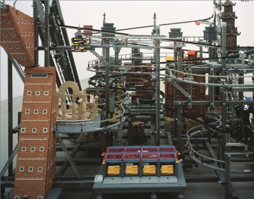 Chris Burden, Metropolis I, 2004. Photo by Shingeo Anzai.  The Modern Art Notes Podcast is now available on iTunes! Click here to download the first issue, with artist Chris Burden, and to subscribe. Subscribe via RSS feed here. Or click here to download or stream the mp3 of Episode One.