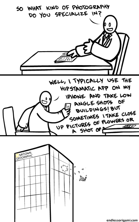 laughingsquid:  Photography Job Interview
