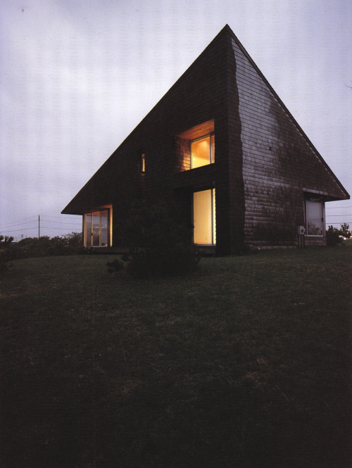 NORMAN JAFFE LEICHTER HOUSE, BRIDGEHAMPTON NY, 1975