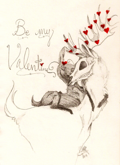 """Be my valentine ♥"" Skelhijd~"
