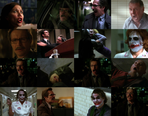 Some akward expressions from Batman Begins and The Dark Knight. Gary Oldman has a lot…