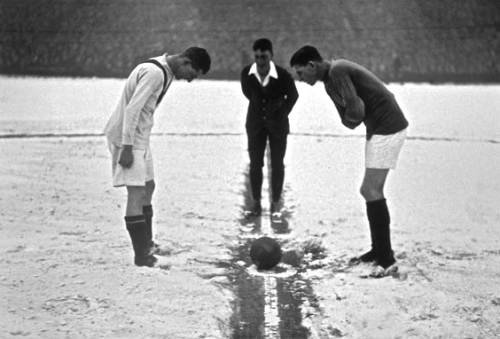 January 1929 - Arsenal vs. Man U