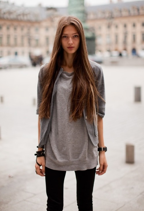 passionedelamode:  Lara a. - Outside Valentino Casting loving seeing photos that I post back again in my dash :)