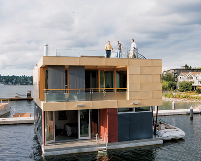 Amazing floating residence … I want to retire like this!