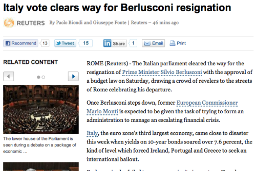 Now Berlusconi can concentrate his financial planning skills on AC Milan….