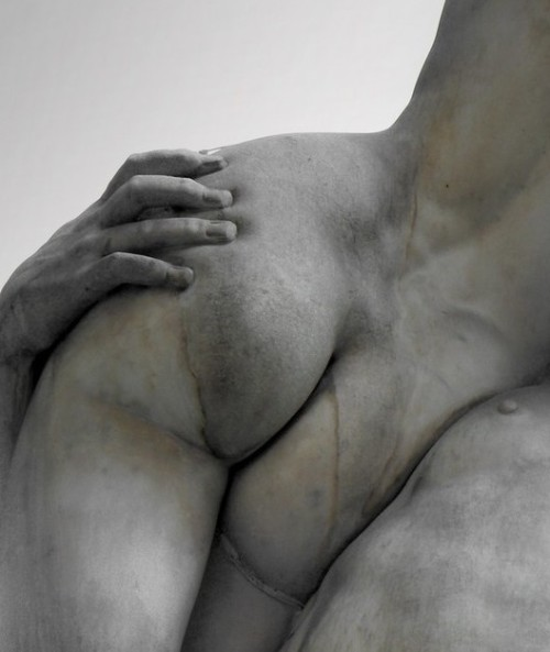 Hyper realistic sculpture is so incredible to me. And butts