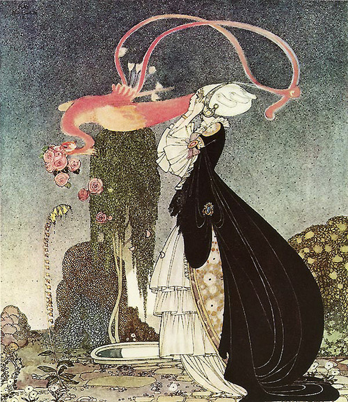 thatoldennui:  Such a Terrible Dream - In Powder and Crinoline - Kay Nielsen on We Heart It. http://weheartit.com/entry/17035900