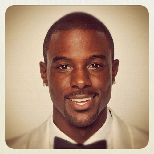 Lance Gross!!  Me at the NAACP Image awards a couple years back…I stopped wearing earrings in my ears  I met him once a couple of years ago. He didn't have on earrings. LOL!! Our picture didn't come out great, but he was a wonderful gentleman, it was his birthday…    …I want to interview him. I will one day (soon). #ReleasesThatIntoTheUniverse :)