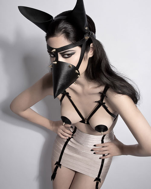 Now published on LOVESEXDANCE magazine! Bra, mask and styling - Karolina Laskowska Waspie by Bordelle Photography - Steve Kraitt Model – Nathalie Hers MUA – Marina Keri Assistant – Tara Alaka