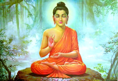 Siddhartha Gautama Buddha, the founder of Buddhism. I am a Buddhist and proud.