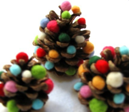 been thinking a lot about pine-cone crafts lately…. :)
