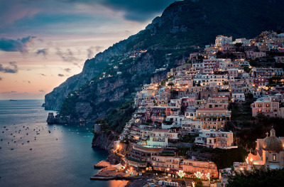 definitelydope:  The beauty of Positano (by Rickuz)