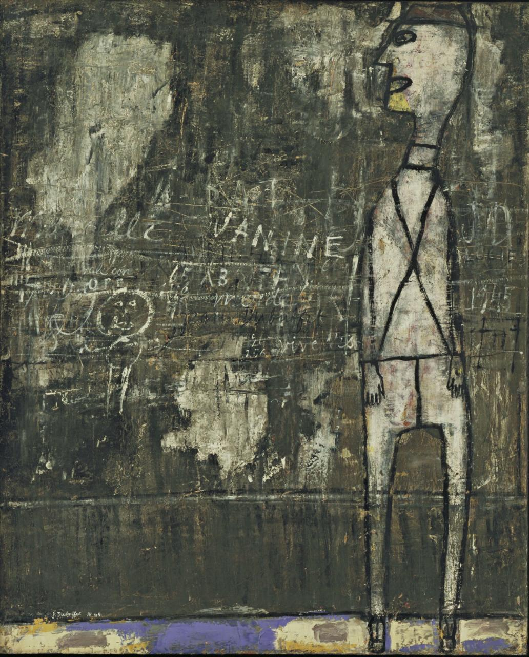 Wall with Inscriptions | Jean Dubuffet