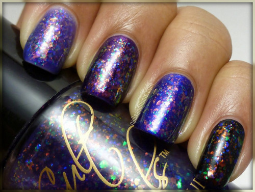 Cult Nails Unicorn Puke (aka Clairvoyant) Swatches & Review