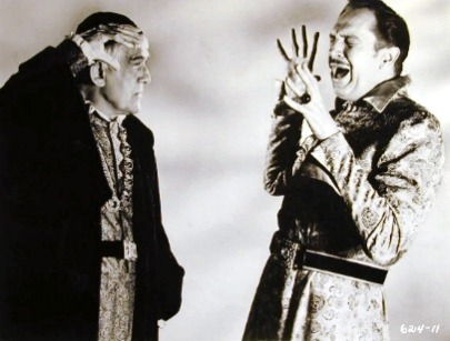 Boris Karloff and Vincent Price