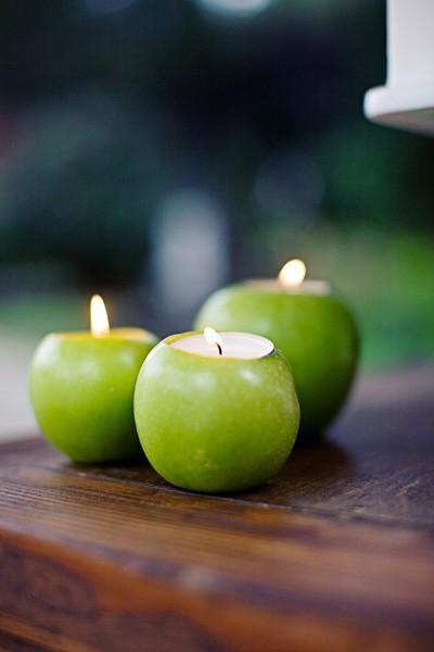apple votives. found here.