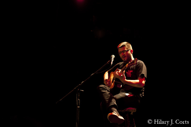 Evan Weiss/Into It. Over It. Bowery Ballroom, New York City. © 2011 Hilary J. Corts
