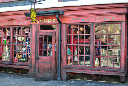 Zonkos Joke Shop by Marie's Shots on Flickr.