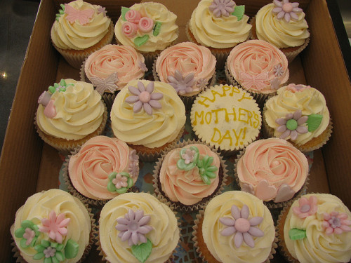 Some of our Mother's Day cupcakes by Blue Door Bakery on Flickr.