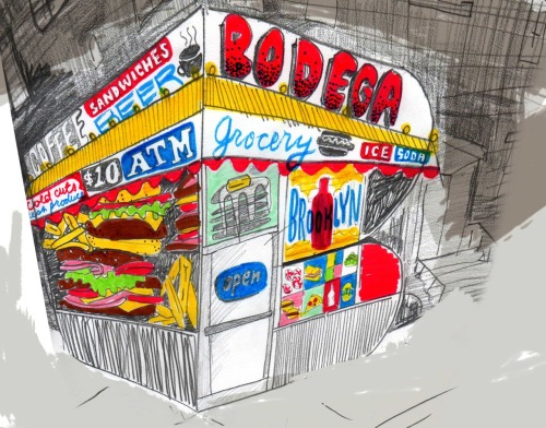 junk food alphabet: B is for Bodega