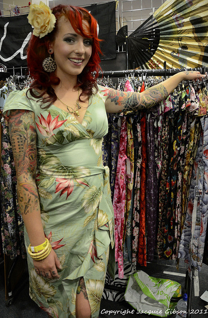 Retro dress stall 1 by ratte salat on Flickr.
