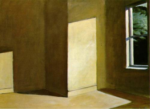 Sun in an Empty Room (1963) – Edward Hopper (American, 1882–1967)