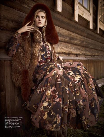 Vogue Russia Nov '11 | The Holy Russian
