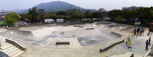 Fanling Skatepark -  Panorama on Flickr.I'm very happy to announce that the Fanling Skatepark will be officially open tomorrow onwards. The park will be open daily, from 09:00am to 11:00pm. Enjoy the new park & take care of it. Keep it clean & be courteous to others who are sharing the park with you. Big thanks to LCSD, the X-Fed Crew, all the skate coaches, Eightfivetwo Shop, HKITStore, Vans, Nike & everyone who's supporting skateboarding in Hong Kong!  Lastly, Big thanks to YOU all who skateboard & support skateboarding.  Have fun & keep rolling!