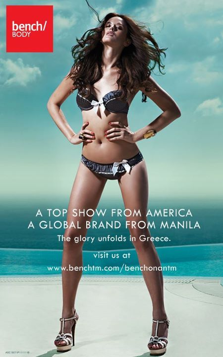 ‎Georgina Wilson in Greece for Bench/ lifestyle + clothing.