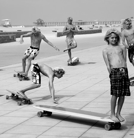 timekeepsontickingaway:  long long longboards!  with a cali girl doing cali things. later nyc.