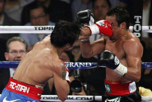 "This is the reason why Manny ""Pac-man"" Pacquiao rules in the BOXING WORLD. He truly knows when and where to hit… at the right time :]"