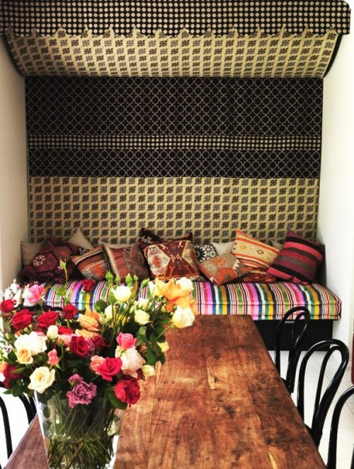 My Bohemian Home ~ Dining Rooms   The home of Vogue editor Kirstie Clements, designerd by Scott Weston