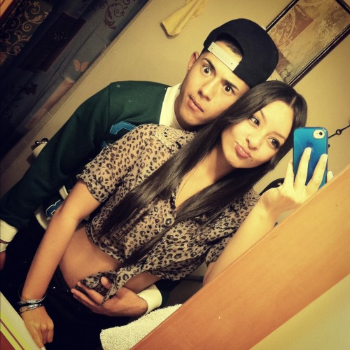 So um hi (: This is my boyfriend & I being silly I guess? lol<3 Happy Anniversary babeee (: 111310