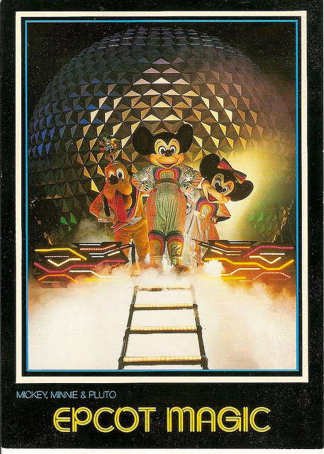 Disney Postcards by coconut wireless on Flickr.