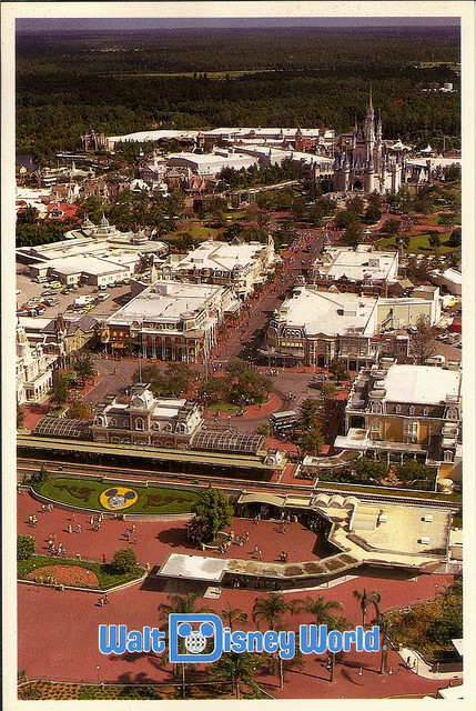 Old Disney Postcards by coconut wireless on Flickr.