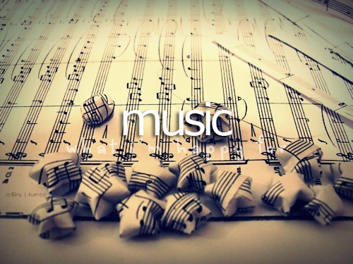 whatimhappyfor:   What I'm happy for » Music