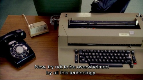 """Now, try not to be overwhelmed by all this technology."" From Mad Men"