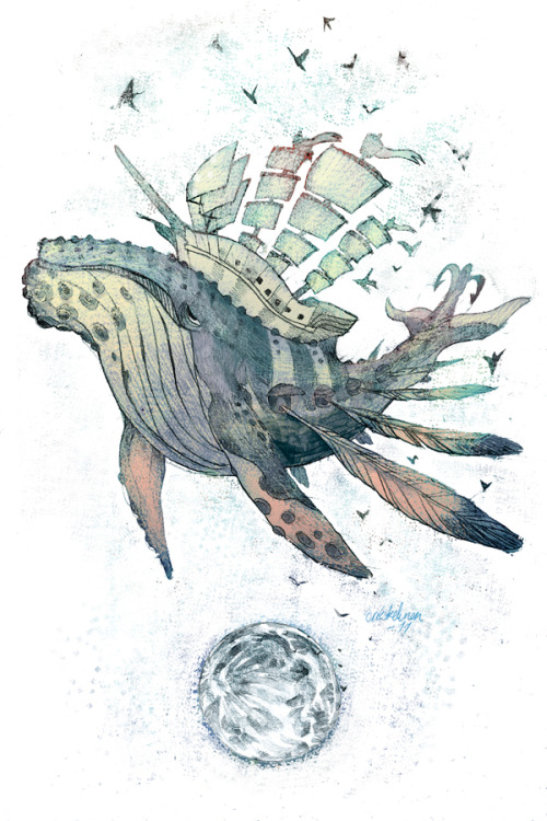 So lovely. evelmiina:  Vessel of Dreams.