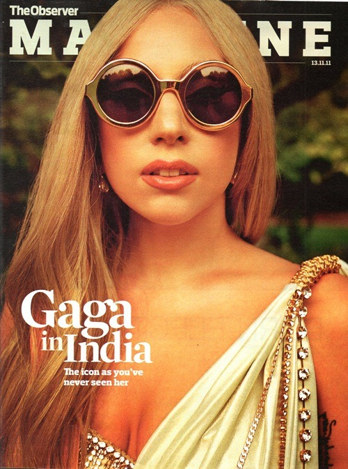 Gaga in India  The icon as you've never seen her.   OMG!!!!