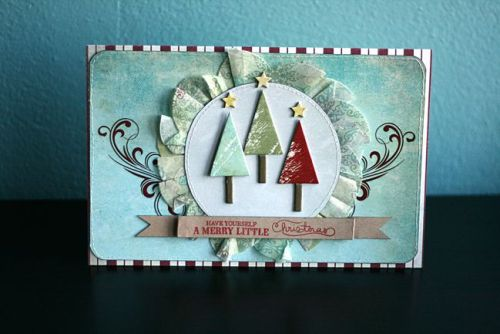 Christmas Card, by, Leah Farquharson