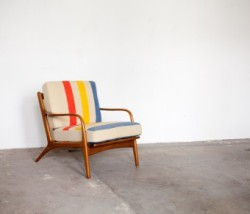 awareinjustice:  Koford Larsen blanket chair