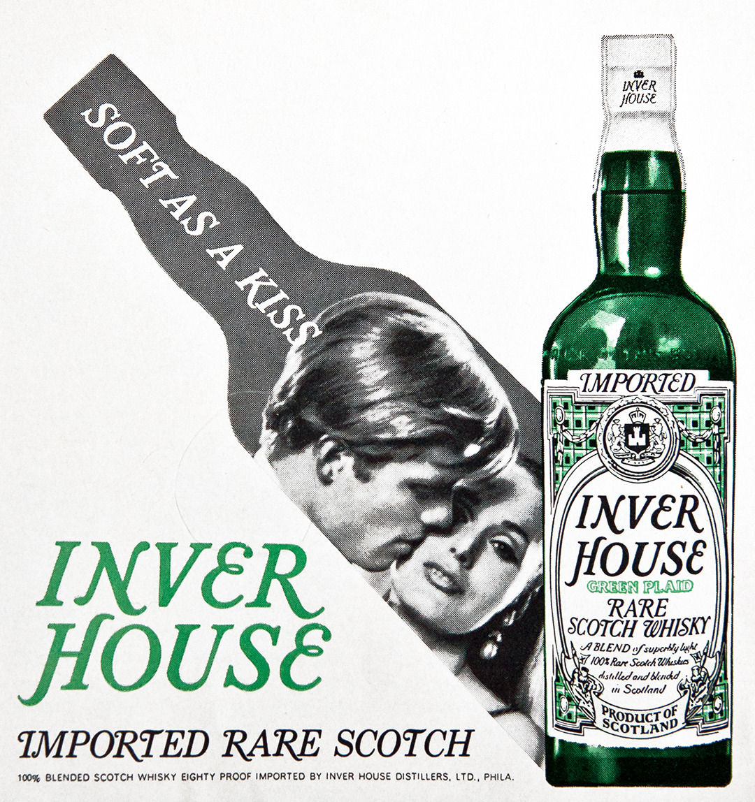 Inver House Advertisement - Gourmet: November 1968