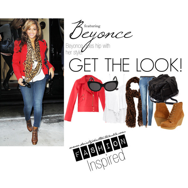 Fashion Inspired: Beyonce by thefashiondemoiselle featuring cat sunglasses
