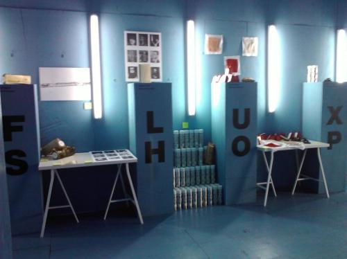 Visit the Fluxus Shop at the Performa Hub, featuring multiples by artists including Adam Chodzko, Christopher Draeger, Kelly Nipper, Michael Portnoy, James Hoff, Brian O'Connell, Marianne Vitale and Bedwyr Williams.  The Hub is open until November 21st, 2011.