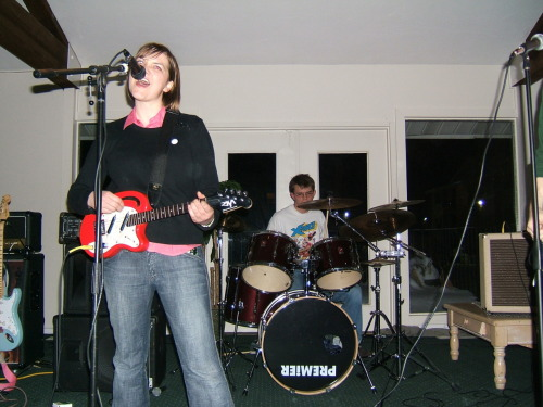 Mary Cox & The Pop Rocks, 2005 (Raintree Clubhouse) -submitted by Rob Nyland