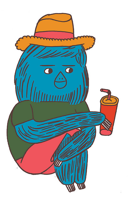 nobrow sloth on Flickr.