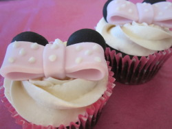 Minnie Mouse-Cakes!
