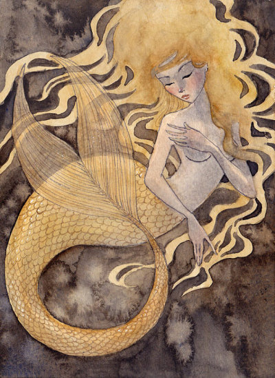 lyonaria:  goldfishrenee naultwatercolor