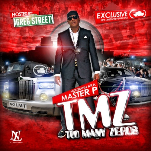 Master P - TMZ (Too Many Zeros) drops on November 16th. LiveMixtapes says it's his first music in ten years, but his 2006 project proves that's greartly exaggerated.