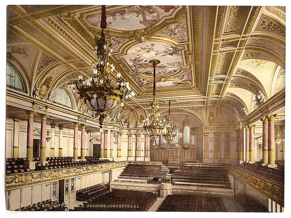 The Tonhalle at the Grand Concert Hall, Zurich